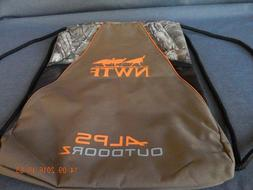ALPS OUTDOORZ NWTF DRAWSTRING BACKPACK / CARRY BAG. NEW WITH
