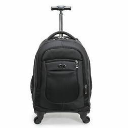 Racini Nylon Waterproof Rolling Backpack, Freewheel Travel S