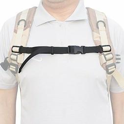 "ONE 3/4"" Nylon Webbing Sternum Strap Backpack Chest Harness"