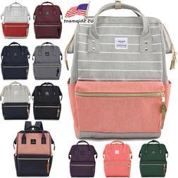 Nobutaki Original Backpack USB Unisex Canvas School Bag Book