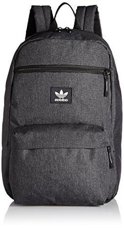adidas Originals National Plus Backpack, Grey Heather/White,