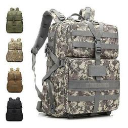 Outdoor 45L Military Molle Assault Tactical Backpack Large R