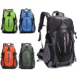 Outdoor Hiking Camping Waterproof Nylon Travel Luggage Rucks