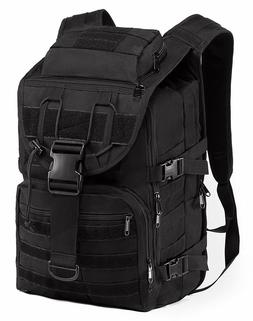 Outdoor Military Tactical Backpack Hiking Camping Trekking R
