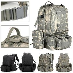 Outdoor Military Tactical Backpack Sport Camping Hiking Trek