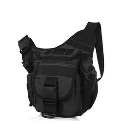 Outdoor Military Tactical Chest Pack Shoulder Bag Travel Cam