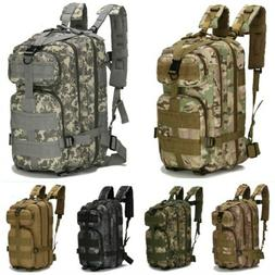 Outdoor Military Tactical Rucksack Backpack Camping Hiking C