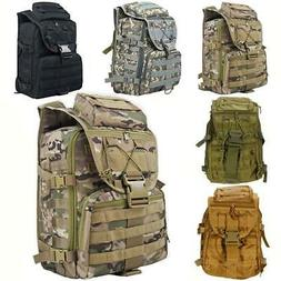 New Outdoor Military Tactical Backpack Hiking Camping Trekki