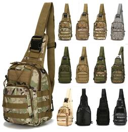Outdoor Military Tactical Shoulder Bag Backpack Camping Trav