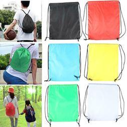 Outdoor Sports Waterproof Drawstring Backpacks Storage Rucks