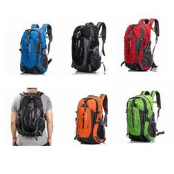 Outdoor Travel Hiking Camping Backpack Waterproof Rucksack T