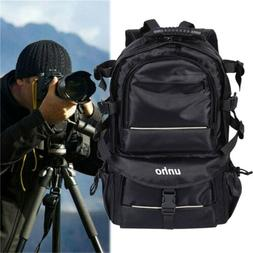 Outdoor Waterproof DSLR Camera Backpack Bag Case Large Capac