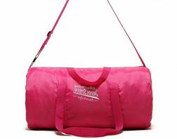 Outdoor Women Portable Gym Bags Waterproof Nylon Sport Pink