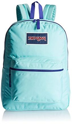 Jansport Overexposed Backpack Aqua Dash Purple New With Tags