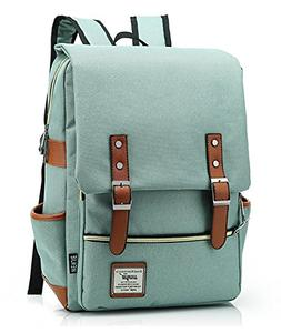 Furivy Unisex Oxford Retro Style Laptop Backpack College Sch
