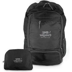 Cougar Outdoor Packable Backpack Daypack, Waterproof & folda