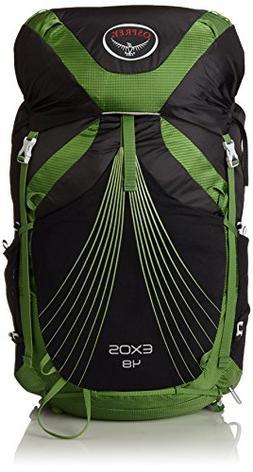 Osprey Packs Exos 48 Backpack, Basalt Black, Large