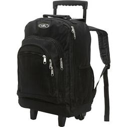 Everest Patterned Wheeled Backpack 8 Colors Rolling Backpack
