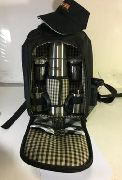 Dunkin Donuts Picnic Backpack / Stainless Steel Thermos and
