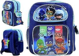 """PJ Masks Kids 12"""" Toddler School Backpack Boy's Canvas Book"""