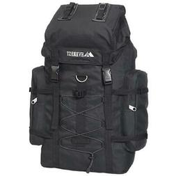 Everest 24-inch Polyester Hiking Backpack in Black