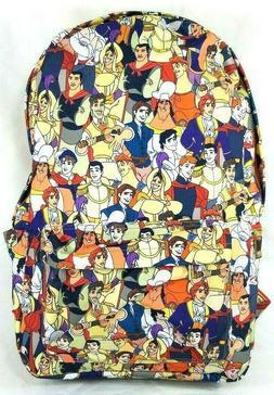 Disney Prince Backpack Oh My Disney Multi Print