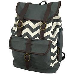 Canvas Bookbag Vintage Cotton Laptop Backpack Fashion Daypac