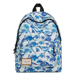 Mr.Ace Fashion Printed Style Pattern School Backpack Lovely
