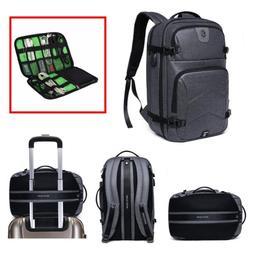 "Professional 17"" Backpack Business & Laptop School Travel Ba"