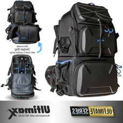 Professional Heavy Duty Deluxe Camera Backpack with Waterpro