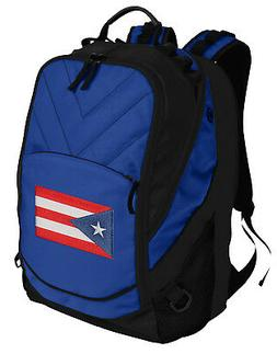 Puerto Rico Backpack Puerto Rico Flag Bag w/ Laptop Section