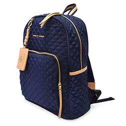 Adrienne Vittadini Quilted Backpack With 13 Inch Padded Lapt