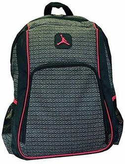 Jordan Boys Black & Red 23 Backpack