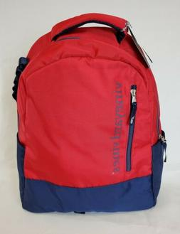 red and navy blue backpack brand new