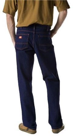 Dickies Men's Regular Fit 5-Pocket Jean,Indigo Blue Rigid,42