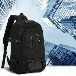 Retro Canvas Backpack Travel Hiking Sports School Bookbag La