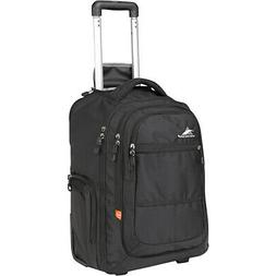 High Sierra Rev Wheeled Laptop Backpack, Black