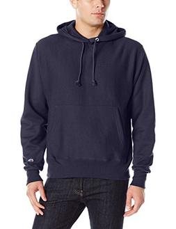 Champion LIFE Men's Reverse Weave Pullover Hoodie, Navy, M