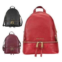 Michael Kors Rhea Medium Leather Backpack - Choose color