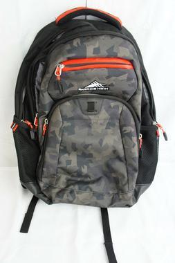 "High Sierra Riprap Lifestyle 20"" Backpack Camo / Black Holds"