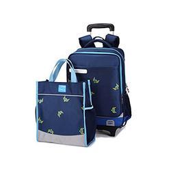 Dikley Rolling Backpack School Kids Rolling Backpack 2 Flash