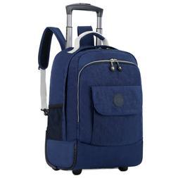 Rolling <font><b>Luggage</b></font> Travel <font><b>Backpack