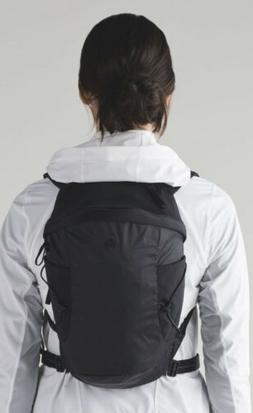 "Lululemon ""Run All Day"" Backpack 13L - Black Reflective"
