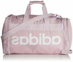 adidas Santiago Duffel Bag, Aero Pink/White, One Size
