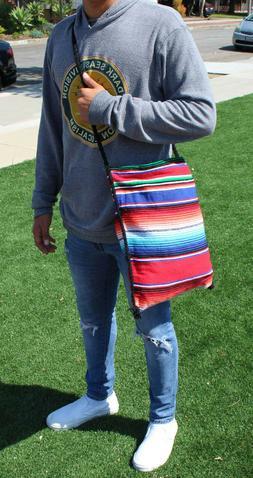 sarape casual daypack, serape backpack shoulder bag
