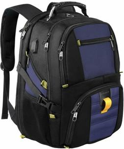 School Backpack,Travel Laptop Backpack with USB Charging Por