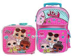 """L.O.L Surprise! Large School Backpack 16"""" Rolling Backpack B"""