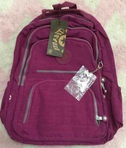 Tegaote School Backpack Teenage Girl Women Laptop Nylon Wate