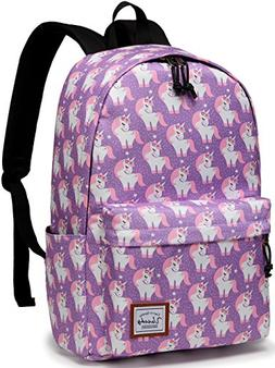 School Backpacks for Girls,VASCHY Cute Lightweight Water-Res
