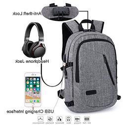 School Laptop Backpack, Anti-Theft & Water-resistant Busines